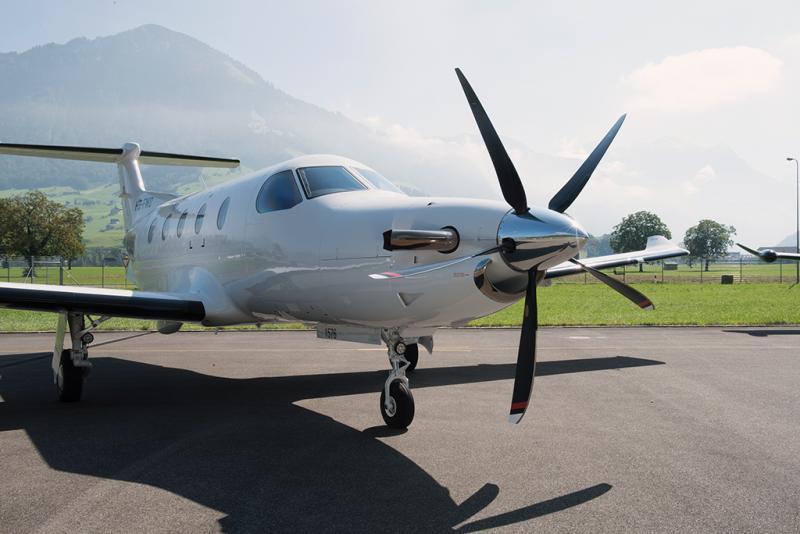Новый тормоз для Pilatus PC-12