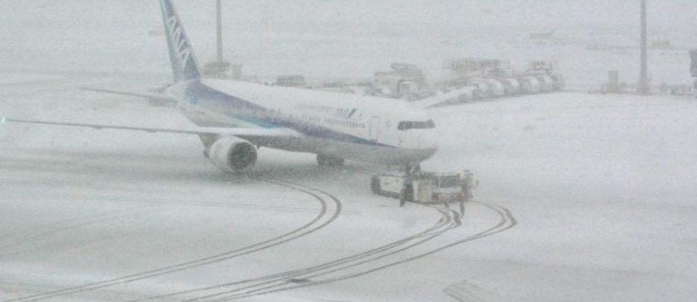 Turkish Airlines отменила несколько сотен рейсов в связи с обильным снегопадом