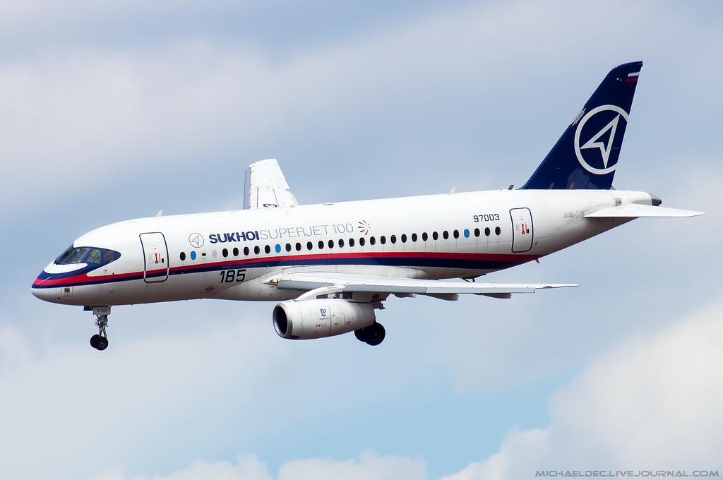 Новая модель авиалайнера Sukhoi Superjet 100 получила сертификат EASA (Европейское агентство по безопасности полетов).